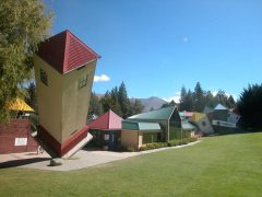 Puzzling World Wanaka exterior leaning tower
