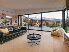 Bargour Residence interior open plan living room