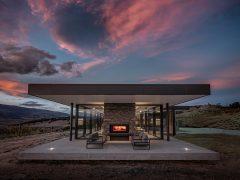 Bendigo Terrace House exterior outdoor entertaining area